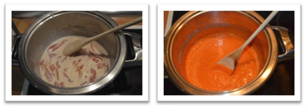 Recetas sanas lomos de lubina con salsa de pimientos del for Salsa para lubina a la sal