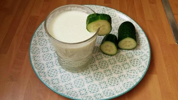 Recetas sanas: Crema fría de pepino.